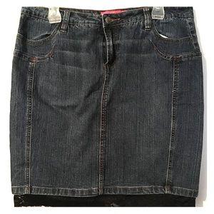 Dresses & Skirts - ☃️💥 2 for $12! Super cute jean skirt!